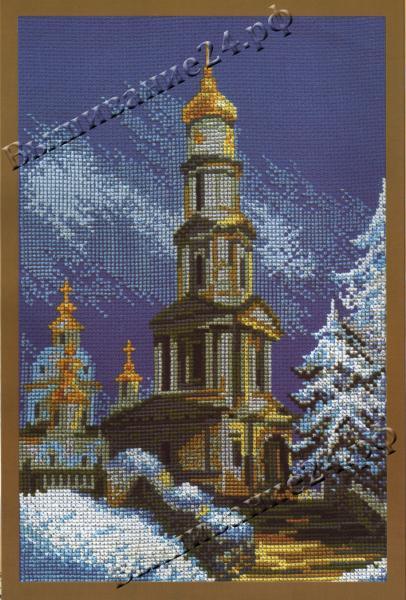 Схема вышивания крестом - Успенский собор