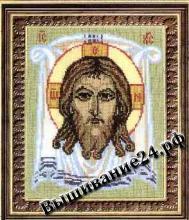 """Схема вышивания крестом Икона """"Спас Нерукотворный"""""""