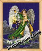 Схема вышивания крестом Ангел снов