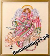 Схема вышивания крестом Ангел романтики