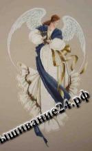 Схема вышивания крестом Ангел надежды