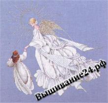 Схема вышивания крестом Ангел милосердия