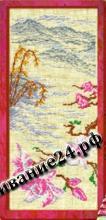 Схема вышивания крестом - Цветок сакуры