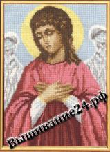 Схема вышивания крестом Ангел Хранитель