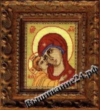 Схема вышивания крестом Икона Богоматерь Игоревская